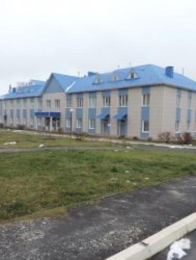 Новое здание инфекционного отделения