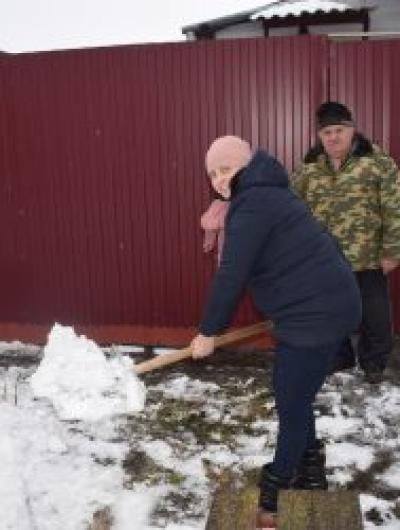 соцзащита убираем снег