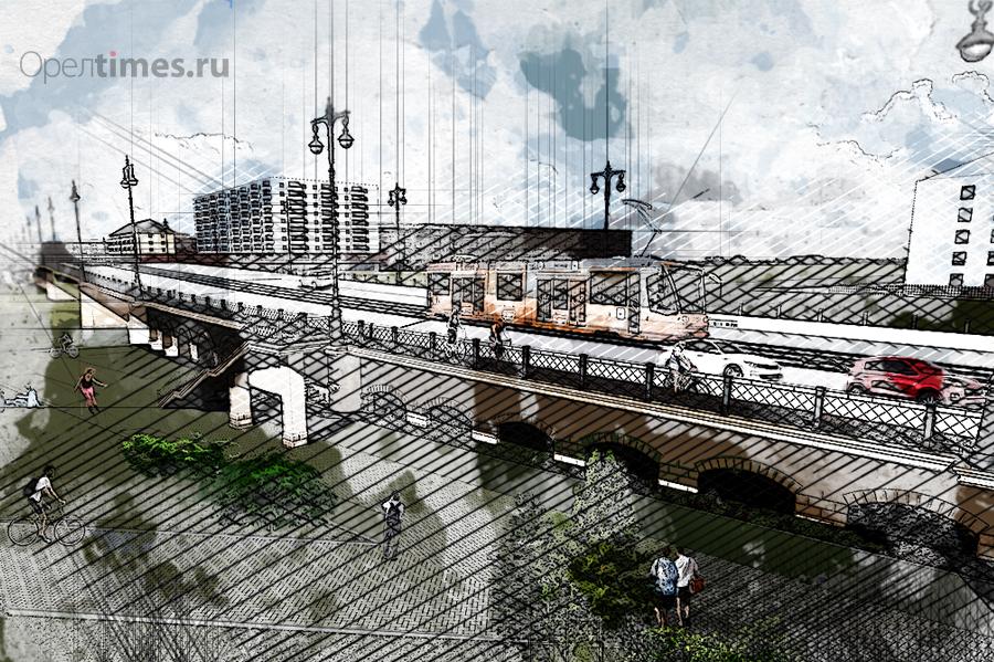 орел красный мост последние новости реконструкция